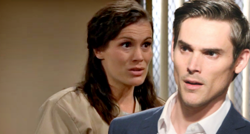 The Young and the Restless Spoilers: Chelsea Truly Loses Mind While Locked Up - Hallucinations of Adam Get Worse?