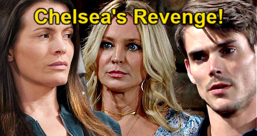 The Young and the Restless Spoilers: Chelsea's Revenge, Sharon's Going Down – Adam's Exes Bitter Battle Brewing?