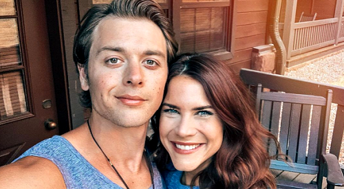 The Young and the Restless Spoilers: Courtney Hope Shares Special Valentine's Day Messages For GH's Chad Duell & Beloved Pup