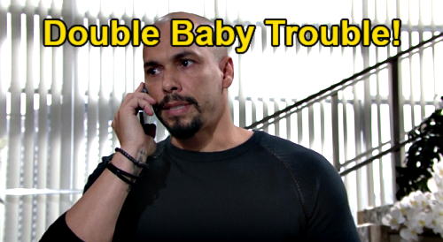 The Young and the Restless Spoilers: Devon Double Baby Trouble – Elena & Mariah Pregnant, Two Children on the Way?