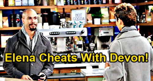 The Young and the Restless Spoilers: Elena Cheats on Nate with Devon – Ice Storm Traps Exes Together, Forbidden Passion Erupts