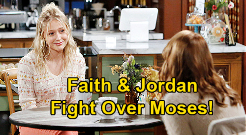 The Young and the Restless Spoilers: Faith & Jordan Fight Over Moses, Devon's Hot Brother – New Teen Love Triangle Brewing?