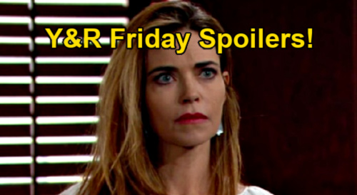 The Young and the Restless Spoilers: Friday, April 16 – Victoria Destroys Adam's Escape Plan – Nick Confesses to Phyllis