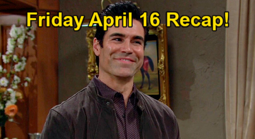The Young and the Restless Spoilers: Friday, April 16 Recap – Chelsea Restraining Order – Tara's Call Panic – Victoria Tips Off Rey