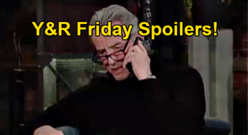 The Young and the Restless Spoilers: Friday, April 30 – Victor Closes In On Adam's Hideout - Imani Brings New Amanda Warning