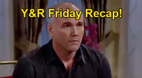 The Young and the Restless Spoilers: Friday, August 20 Recap – Stitch's Excuse – Mariah's Terror - Adam Comforts Sharon