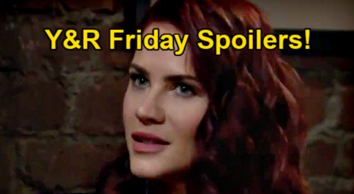 The Young and the Restless Spoilers: Friday, February 26 – Adam Hides Trail – Rey Forces Sharon's Choice – Chloe Helps Chelsea