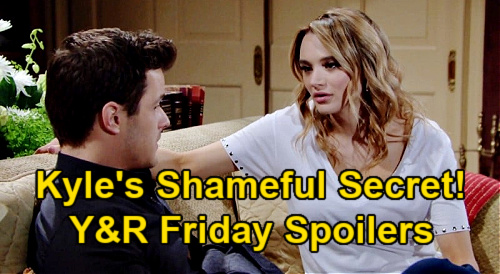 The Young and the Restless Spoilers: Friday, January 29 – Kyle's Bad NYC Past, Keeps Secret from Summer – Jack Falls Hard for Sally