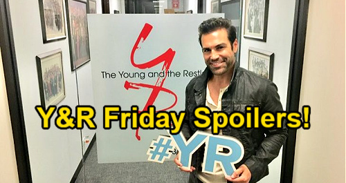The Young and the Restless Spoilers: Friday, July 30 – Rey Returns to Sharon – Chelsea Schemes – Phyllis Seeks Summer's Boss