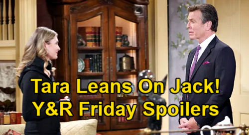 The Young and the Restless Spoilers: Friday, June 11 – Tara Leans on Jack – Victor Wants Sutton & Amanda Answers – Lily's Plea for Help