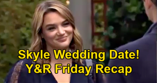 The Young and the Restless Spoilers: Friday, June 11 Recap – Summer & Kyle's Wedding Date – Sutton's Big Slipup