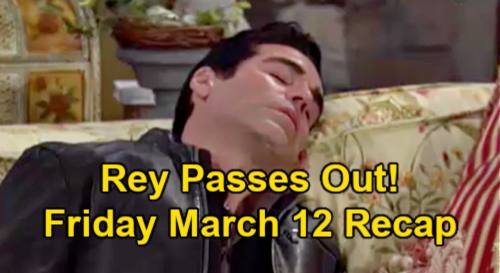 The Young and the Restless Spoilers: Friday, March 12 Recap – Victoria Blurts Out Billy Love Confession - Rey Passes Out