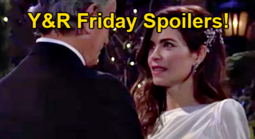 The Young and the Restless Spoilers: Friday, October 15 – Ashland & Victoria Say Vows & Kiss, Marriage Official – Gaines Fails