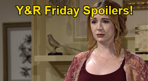 The Young and the Restless Spoilers: Friday, September 17 – Mariah Drops Bomb at Dominic's Christening – Amanda's Bold Move