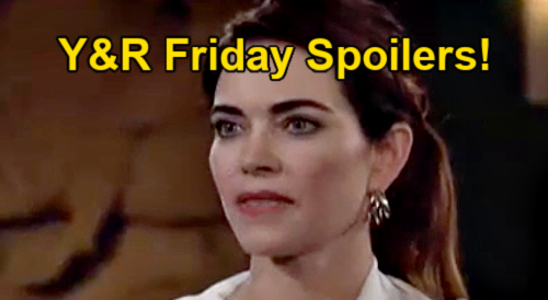 The Young and the Restless Spoilers: Friday, September 24 – Victor Comes to Ashland's Rescue - Victoria Suspects Phyllis
