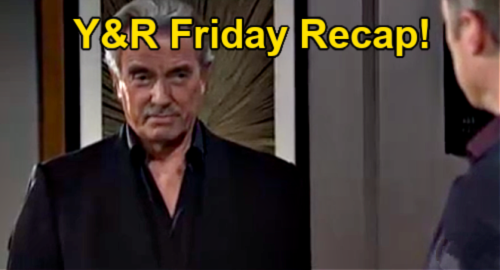 The Young and the Restless Spoilers: Friday, September 24 Recap – Nick's Trip to Toms River - Victor Sabotages Gaines & Billy