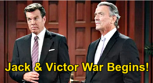 The Young and the Restless Spoilers: Jack & Victor Ignite Abbott-Newman War - Adam Sides With Dad