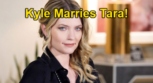 The Young and the Restless Spoilers: Kyle's Fall Wedding to Tara – Summer Heartbroken Over Bride Swap?