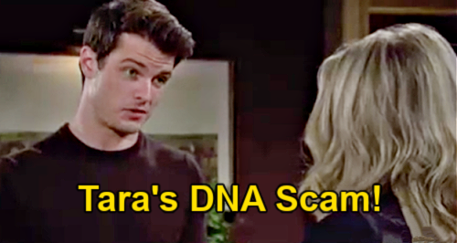 The Young and the Restless Spoilers: Kyle Furious Over Tara's Fake DNA Scam – Harrison Not Abbott's Son?
