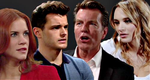 The Young and the Restless Spoilers: Kyle & Jack Battle Over Sally – Summer Miserable Over Father-Son Love Triangle?