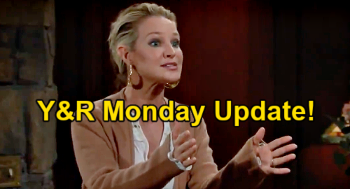 The Young and the Restless Spoilers: Monday, April 12 Update – Sharon Blames Chelsea & Chloe for Framing Adam