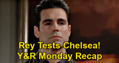 The Young and the Restless Spoilers: Monday, April 26 Recap – Rey Tests Chelsea with Connor Plan – Sharon Confesses to Nick