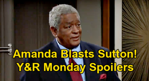 The Young and the Restless Spoilers: Monday, April 5 – Amanda Unleashes Fury on Grandpa Sutton – Sharon Secretly Visits Adam