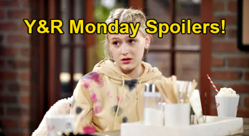 The Young and the Restless Spoilers: Monday, February 22 – Kyle's Son Confession Stuns Mariah – Summer's Dilemma – Sharon Caught