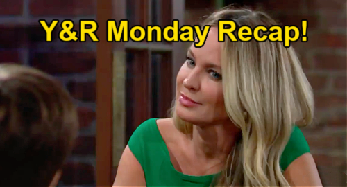 The Young and the Restless Spoilers: Monday, September 20 Recap – Sharon Fears Gold Digger Sally Targeting Adam – Exiled Mariah