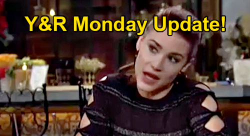 The Young and the Restless Spoilers: Monday, September 20 Update – Sally's Got The Mom Gene – Devon's Dad Confession