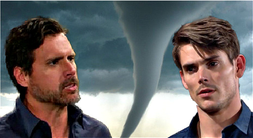 The Young and the Restless Spoilers: Nick Trapped by Tornado Storm Cellar Collapse – Adam Must Decide, Escape or Save Brother