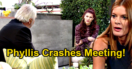 The Young and the Restless Spoilers: Phyllis Crashes Eric Forrester's LA Meeting – Scores Secret to Destroy Sally