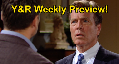 The Young and the Restless Spoilers: Preview Week of September 20 - Phyllis' Heart Torn - Jack's Struggle For Love