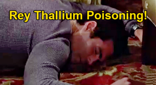 The Young and the Restless Spoilers: Rey Thallium Poisoning – Search Finds Poison in Body Wash, Hair Gel and Shaving Cream