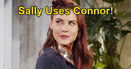 The Young and the Restless Spoilers: Sally Befriends Connor - Uses Adam's Son to Advantage