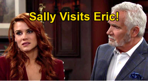 The Young and the Restless Spoilers: Sally Needs Eric Forrester's Help – John McCook's Special Bold and the Beautiful Crossover