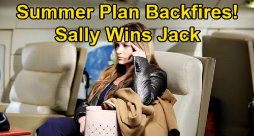 The Young and the Restless Spoilers: Summer's Plan Backfires, Sally Plays Victim – Jack Falls Harder After Spectra's Sob Story?