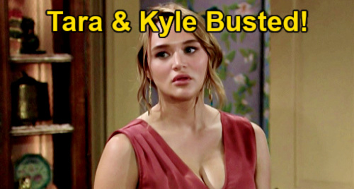 The Young and the Restless Spoilers: Summer Catches Kyle & Tara in Compromising Situation – Fiancé Tries to Explain