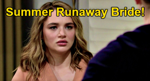The Young and the Restless Spoilers: Summer Runaway Bride Breaks Kyle's Heart – Wedding Disaster Pushes Groom Into Tara's Arms?