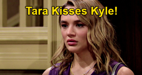 The Young and the Restless Spoilers: Tara Kisses Kyle, Makes Move on Summer's Man – Damsel in Distress Act Steals Fiancé?