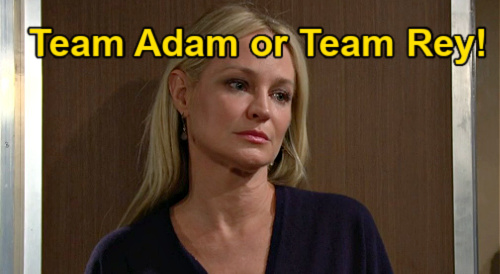 The Young and the Restless Spoilers: Team Adam or Team Rey - Which Guy Is Right For Sharon Today?