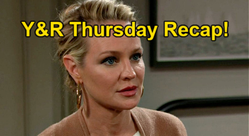 The Young and the Restless Spoilers: Thursday, April 8 Recap – Chloe Sets Connor Bait for Adam – Sharon Ruins Chelsea's Plan