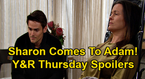 The Young and the Restless Spoilers: Thursday, January 14 – Scared Abby Shares Secret with Victoria – Sharon Steps Up For Adam