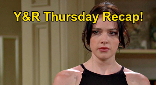 The Young and the Restless Spoilers: Thursday, July 22 Recap – Mariah's Strange Text - Stitch Moving to GC - Imani's New Job