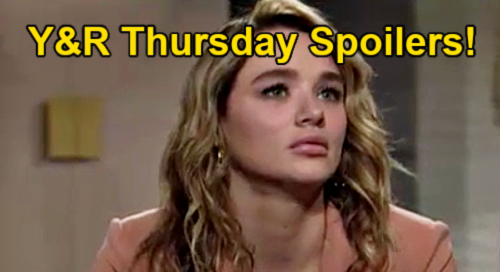The Young and the Restless Spoilers: Thursday, June 3 – Ashland & Victoria Sizzle - Summer's Plea for Sharon's Help