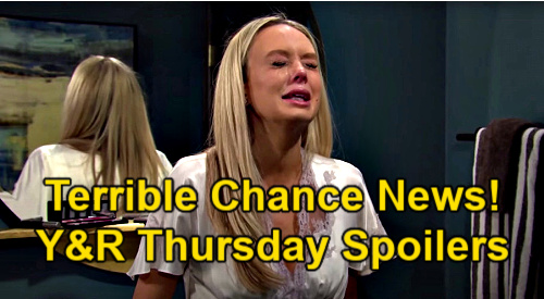 The Young and the Restless Spoilers: Thursday, March 4 – Abby's Tough Chance News – Jack Defends Sally – Devon's Horrible Guilt