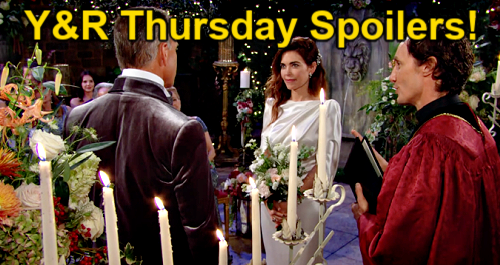 The Young and the Restless Spoilers: Thursday, October 14 – Bombshell as Victoria Walks Down Aisle – Sally Snubbed