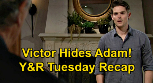 The Young and the Restless Spoilers: Tuesday, April 13 Recap – Victor Hides Adam – Victoria Wins Cyaxares - Faith Slams Jordan