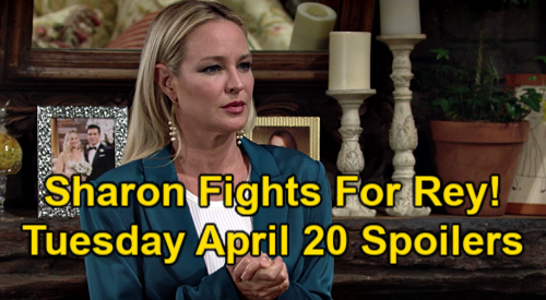 The Young and the Restless Spoilers: Tuesday, April 20 – Sharon Fights for Rey - Kyle's Confession – Jack & Ashland Go to War
