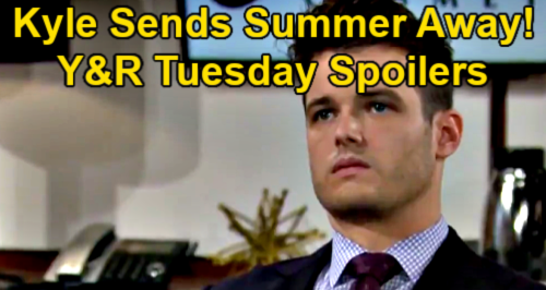 The Young and the Restless Spoilers: Tuesday, February 23 – Kyle Sends Summer Away - Sally & Jack's Date – Victor's Betrayal